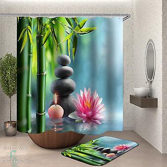 Waterlily Spa Duschvorhang