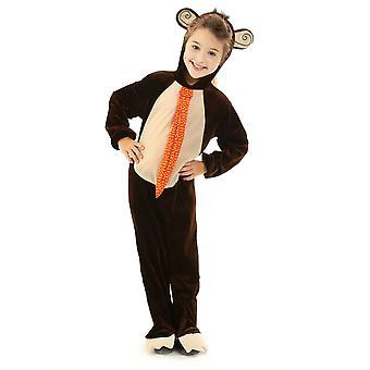 Monkey Children's Costume, 3-4