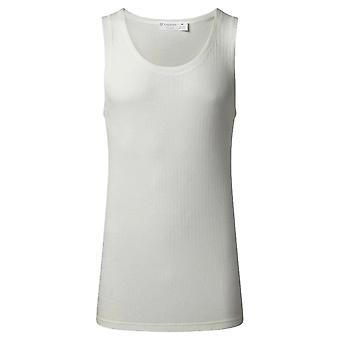 Vedoneire Thermal Athletic Vest - Cream/White