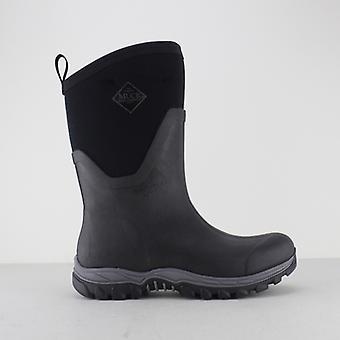 Muck Boots Arctic Sport Mid Ladies Rubber Wellington Boots Black