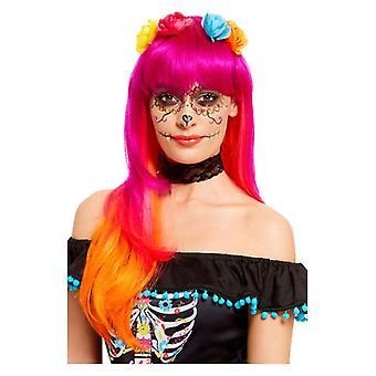 Journée des femmes de la perruque morte Halloween Fancy Dress Accessoire