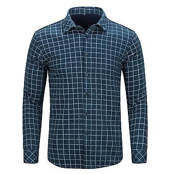 Allthemen miesten ' s talvi rento paksu neliömäinen ruudullinen paita pusero