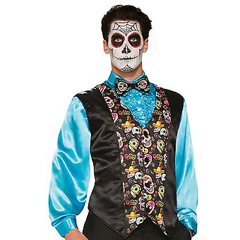 Bristol Novelty Day Of The Dead Bow Tie