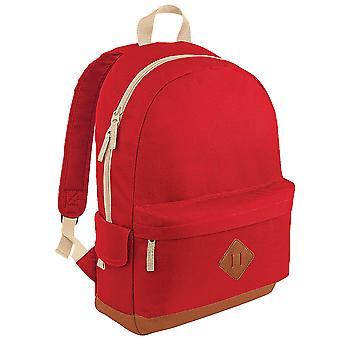 Bagbase Heritage Retro Backpack / Rucksack / Bag (18 Litres)