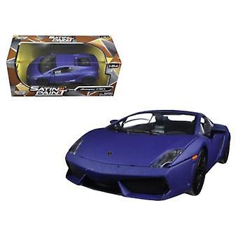 Lamborghini Gallardo LP 560-4 Matt Purple 1/24 Diecast Model Car by Motormax