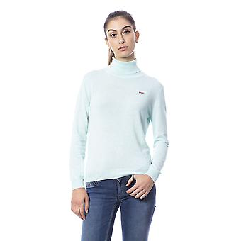 Light Blue Pullover Roberto Cavalli Women