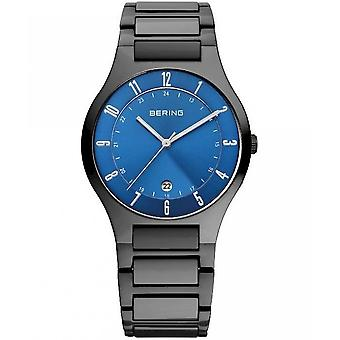 Bering horloges mens watch titanium 11739-727