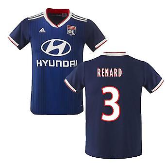 2019-2020 Olympique Lyon Adidas Away Football Shirt (Renard 3)