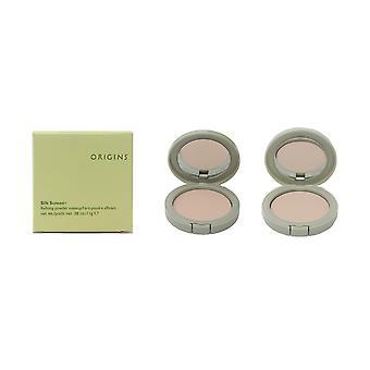 Origins silkki näytön jalostava jauhe meikki 0,38 oz/11g uusi laatikko