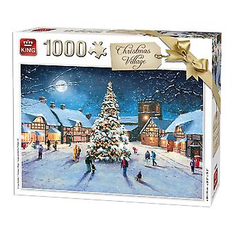 King Christmas Village Jigsaw Puzzle (1000 Pieces)