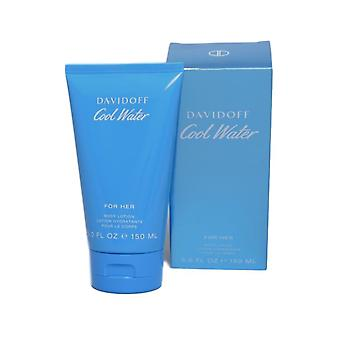 Davidoff Cool Water Woman Body Lotion para su 150ml