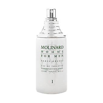 Molinard homme i by molinard for men 4.0 oz eau de toilette spray (tester)
