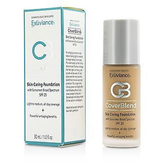 Exuviance CoverBlend Skin Caring Foundation SPF20 - # Desert Sand 30ml/1oz