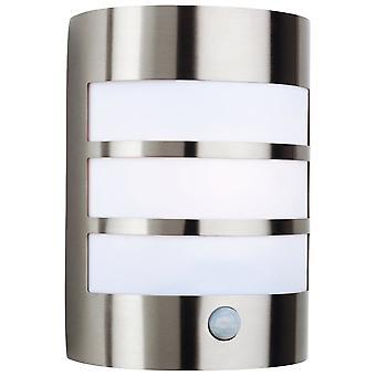 Firstlight Chromatic Modern Stainless Steel Bathroom Sensor Down Wall Light