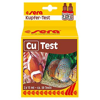 Sera sera copper-Test (Cu) (Fish , Maintenance , pH & Other Substance Test Strips)