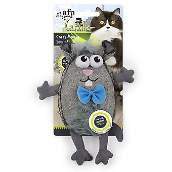AFP Catzilla Juguete Crazy Mouse (Cats , Toys , Mice)