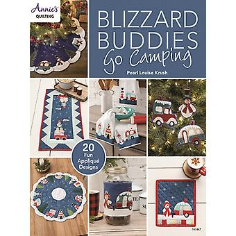 Blizzard Buddies Go Camping by Pearl Louise Krush