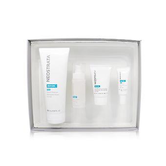 Neostrata Sensitive Skin Antiaging Kit: Restore Cleanser Restore Face Cream Restore Face Serum Restore Eye Cream - 4pcs