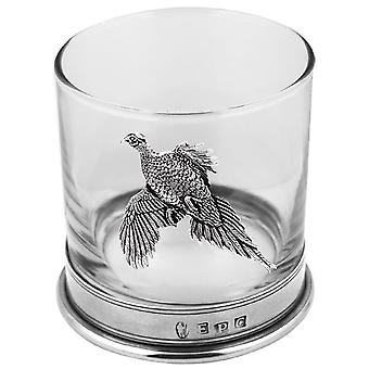Fácán Pewter whisky üveg Single Tumbler