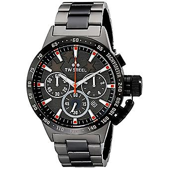 TW Steel Unisex Quartz Chronograph Watch with metal Plated Stainless TW313