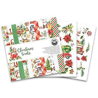 "Piatek13 6""x6"" Paper Pad - Christmas Treats, 24 Sheets"