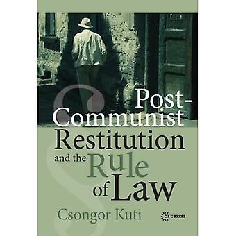 Restituição pós-comunista e o estado de direito