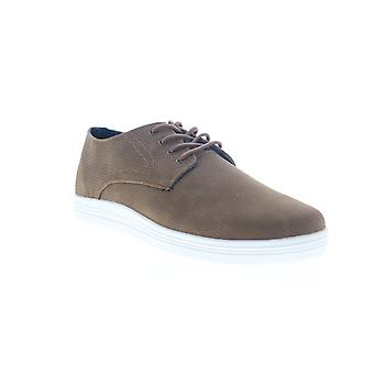 Ben Sherman Preston  Mens Brown Leather Casual Lace Up Oxfords Shoes