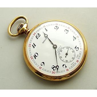 Monte gold pocket watch