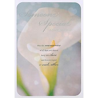 Hallmark Someone Special In Your World Is Gone - Sympathy Bereavement Card 25452868