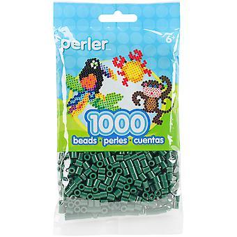Perler Beads 1,000/Pkg-Evergreen