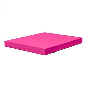 Fun!ture Pink 'Delta' Water Resistant X-Large Fitness Gym Mat - 120cm x 100cm