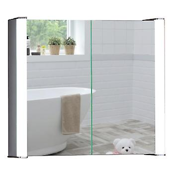 Neue Design LED Bathroom Mirror Cabinet 60cm(H)x65cm(W)x16cm(D)  C12