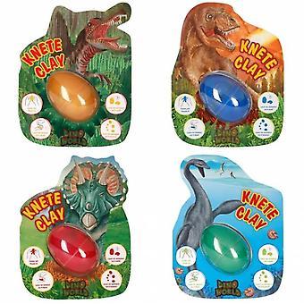 Depesche Dino verden hoppe ler med lommelygte, assorterede farver One leveres