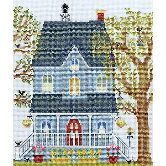Bothy Threads Cross Stitch Kit - New England Homes: Kevät