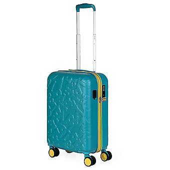 Lois Zion Handbagage Trolley S, 4 wielen, 36 cm, 33 L, turquoise
