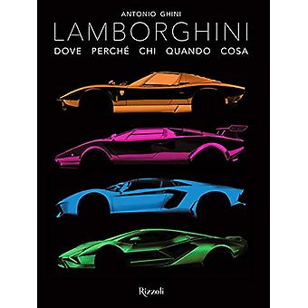 Lamborghini by Antonio Ghini - 9788891822185 Book
