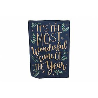 Wonderful Time Of Year Christmas Tea towel | Gifts  Handpicked