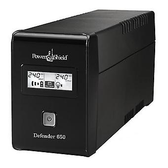 Powershield Defender 650Va Sin ventilador, Usb I/Face