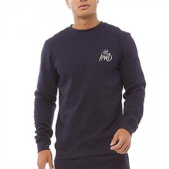 Kings Will Dream Crosby Navy Crew Neck Sweatshirt