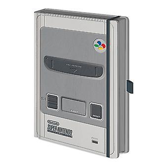 Official Super Nintendo Premium Notebook / Journal