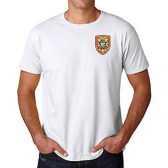 Amerikaanse adviseur Vietnam MACV-SOG Insignia - geborduurd Logo - Ringspun katoen T Shirt
