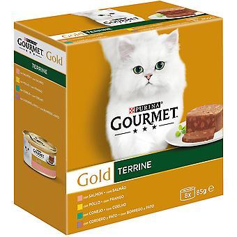 Gourmet Assorted Terrine Snacks 680 gr (Cats , Cat Food , Wet Food)