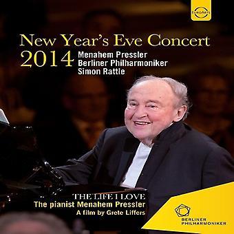 Importación de USA de Simon Rattle - Berliner Philharmoniker - año nuevo Eva concierto [DVD]