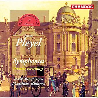 I. Pleyel - Pleyel: Symphonie en ut; Symphonie en sol; Symphonie en D [CD] USA import