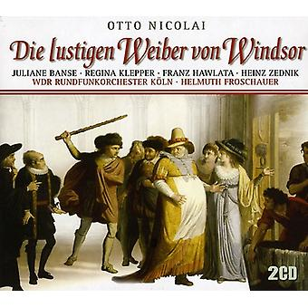 Nicolai O.: Merry Wives Of Wi [CD] USA import