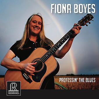 Boyes / Charles / Jones / Wilson / Palmer / Rogers - Professin' the Blues [CD] USA import