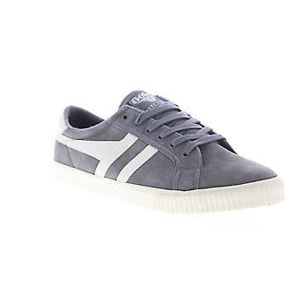 Gola Tennis Mark Cox  Mens Gray Suede Lace Up Lifestyle Sneakers Shoes