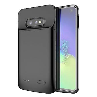 Battery shell 4700mAh - compatible with Samsung Galaxy S10e - black