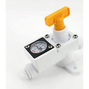 Duotight Inline In-line Regulator - With Integrated Gauge For Water Or Gas
