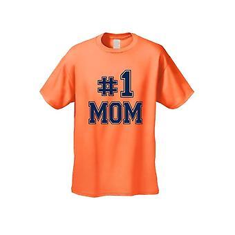 "Unisex Everybody Knows I'm The ""#1MOM"" Camiseta de manga corta"
